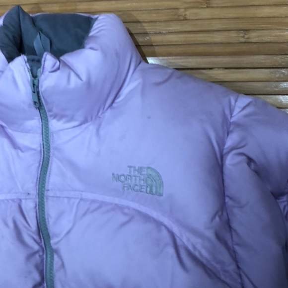 633037414 Lilac North Face puffer coat. 🌺 Make an offer!